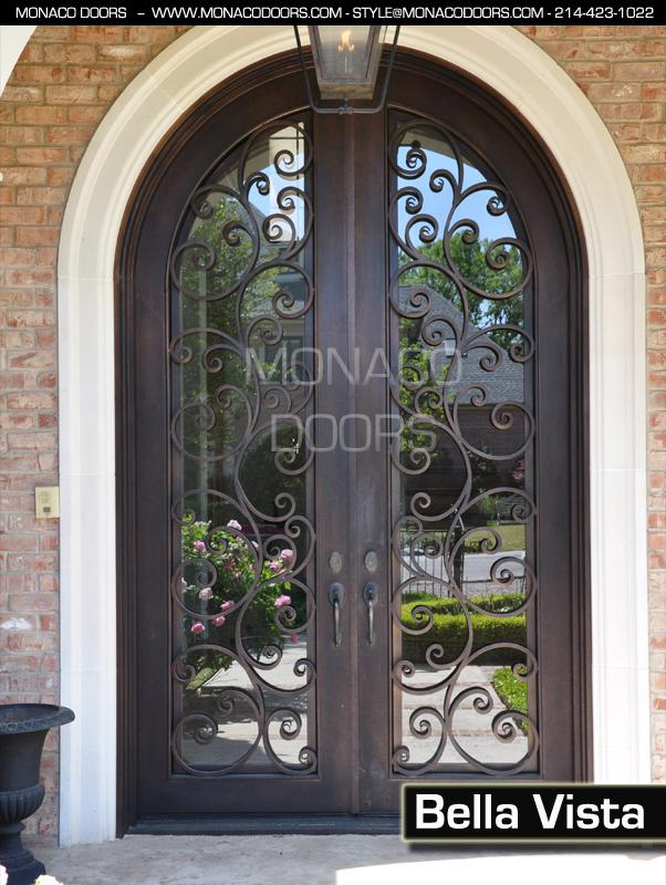 Double Iron Doors