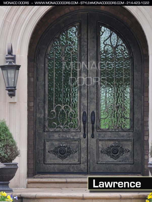 Double Iron Doors Monaco Doors Custom Doors Wrought