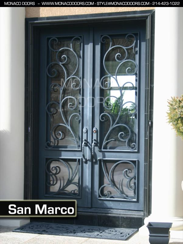 Captivating Custom Exterior Iron Doors Images Best Interior Design