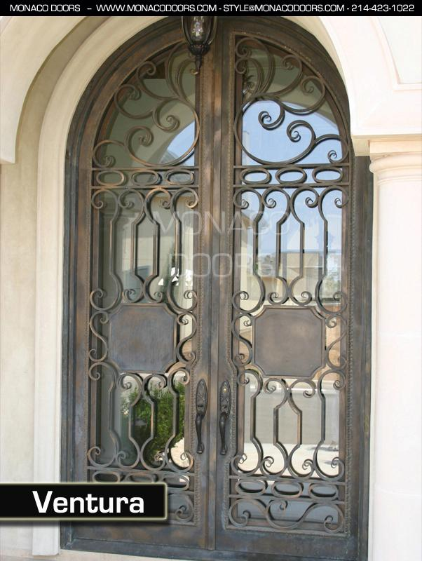 Iron Doors Monaco Doors Custom Doors Wrought Iron Doors