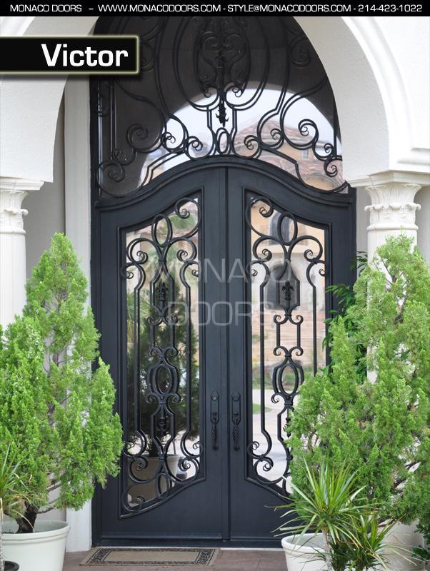 Iron Doors Monaco Doors Custom Doors Wrought Iron Doors